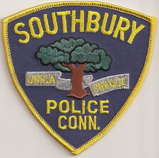 Southbury Police Patch Connecticut CT NEW !!!