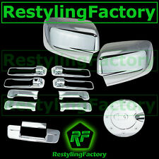 09-16 Dodge Ram Chrome Mirror no Light+4 Door Handle+Tailgate no KH CM+Gas Cover