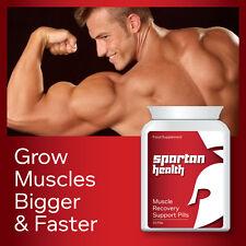 Spartan santé la récupération musculaire croissance pilule support plus grands et plus rapide muscles
