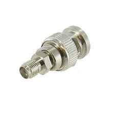 BNC Male to SMA Female Plug Coax Adapter