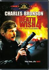 Death Wish 4: The Crackdown (DVD, 2004)