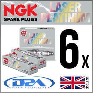 6x NGK PZTR5A-15 Laser Platinum Spark Plugs For CHEVROLET BLAZER 4.3 03-->
