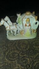 Cinderella Carriage And Horses Figurine