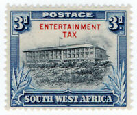 (I.B-BOB) South-West Africa Revenue : Entertainment Tax 3d