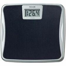 Taylor 73294072 Silver Platform Lithium Electronic Digital Scale 330lb Capacity