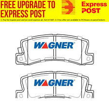 Wagner Brake Pad Set Rear DB1697WB fits Toyota Camry 1.8 (SV20),2.0 (SV11),2.