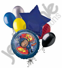 7 pc Mike the Knight Balloon Bouquet Party Decoration Happy Birthday Nick Jr.