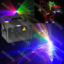 2W RGB ILDA animation laser light DJ nightclubs party laser show 20kpps Galvo