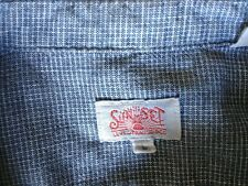 Levi's Vintage Clothing LVC Sunset 1920's Cotton Shirt Size Large