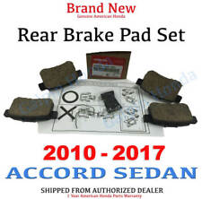 2010- 2017 Honda ACCORD SEDAN Genuine Factory Rear Brake Pad Set (43022-TA0-A81)