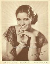 YOUNG ELEGANT KAY FRANCIS ORIG SCREEN PLAY GENE RICHEE PORTRAIT PREMIUM