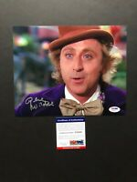 Gene Wilder autographed signed 8x10 photo PSA/DNA COA Willy Wonka Charlie Young
