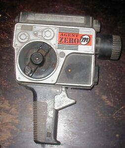 1960's Mattel Agent Zero M Movie - Shot Camera Cap Gun Secret Agent