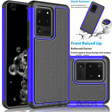 Shockproof Slim Bumper Hard Case Cover For Samsung Galaxy S20 S10 S9 S8 S7 S6