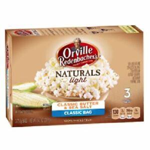 Orville Redenbacher's Naturals Light Classic Butter & Sea Salt Microwave Popcorn