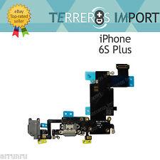 Flex Dock Carga Conector Microfono Jack Auricular para iPhone 6S Plus Gris