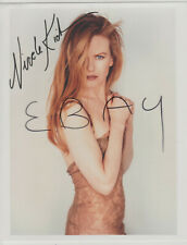 NICOLE KIDMAN Sexy 8x10 COLOR PHOTO with RP Autograph