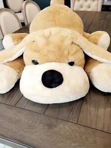 "FAO Schwarz • JUMBO Patrick the Pup Plush Dog • 36"" • Absolutely Adorable!!!"