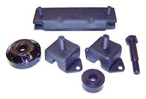Crown Automotive 638629K Engine Mount Kit Fits CJ3 CJ5 CJ5A CJ6 CJ6A Willys
