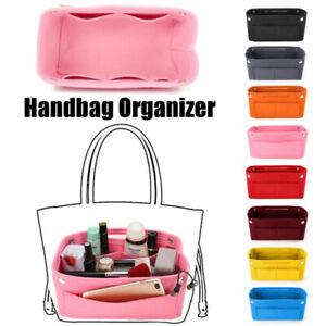 Womens Travel Insert Handbag Organizer Purse Cosmetic Bag Liner Tidy Storage Bag