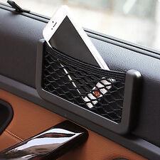 2 x Car Phone Mount Side Net Bag Mesh Storage String Pocket Holder universal