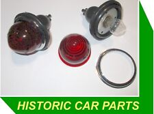 Triumph 10 1958-59 - 2 x RED ROUND REAR STOP/TAIL LIGHTS