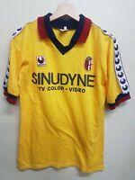 Maglia calcio Bologna Uhlsport vintage 80 shirt camiseta soccer Maillot Sinudyne