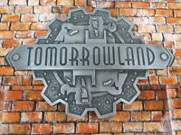 Customized MAGIC KINGDOM GATE PLAQUE Inspired Wood Disney World Prop Sign Print