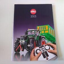 Catalogue Siku 2005 64 pages avec toute la gamme