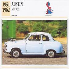 1951-1962 AUSTIN A30 / A35 Classic Car Photograph / Information Maxi Card