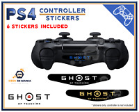 6x PS4 Lightbar Ghost of Tsushima Autocollant Led Lightbar Playstation Stickers