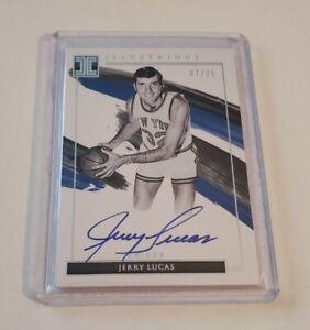 R69,604 - 2020-21 Impeccable Illustrious Autograph Jerry Lucas #7/25 Knicks