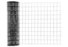 Gitterzaun, Gartenzaun, Maschendraht, anthrazit, Masche 10x7,5cm, 1,0 x 25m