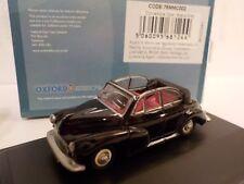 Morris Minor, Black, Black, Model Cars, Oxford Diecast