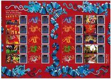 Ls80 Lunar New Year Dragon 2012 Generic Smilers Full Sheet