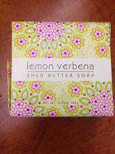 NEW LEMON VERBENA SHEA BUTTER SOAP 6.35 OZ GREENWICH BAY SOAP