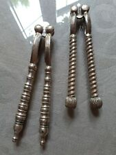 More details for victorian  silver plated nut crackers