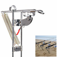 HQ Fishing Rod Holder Automatic Tip-Up Hook Setter Fish Pole Tackle Bracket hot