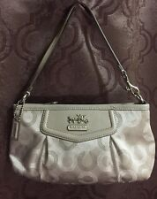 Coach Madison Op Art Signature Large Clutch/ Wristlet NWOT