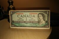 1954 Replacement $1 Dollar Bank of Canada Banknote *HY0099508