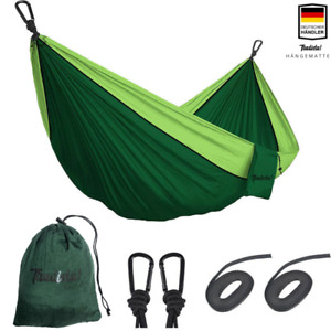 Hängematte XXL Outdoor Mehrpersonen Ultra-Leicht Fallschirm Nylon Camping 300KG