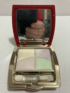 CLARINS Colour Quartet For Eyes 34601 PASTEL SHIMMERS 0.28oz/8g NEW