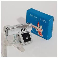 Briquet essence * PARTNER PISTOL-TYPE + box * Petrol Lighter-Feuerzeug-Accendino