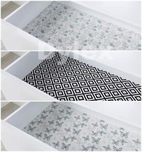 Non-Slip Draw Mat Shelf Liner Cabinet Storage Pad Kitchen Cupboard Multipurpose