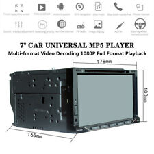 """7"""" 2DIN Car MP5 Player GPS Navigation Radio Stereo Touch Screen USB/TF Universal"""