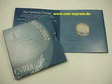 *** 25 euros conmemorativa Luxemburgo 2002 Tribunal Europeo pp moneda coin **