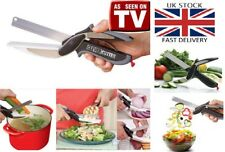 Clever Cutter 2-in-1 Cutting & Knife Board Scissors FREE POST UK As Seen On TV