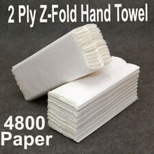 4800 Paper Hand Towels Z fold tissues Multi Fold Premium Quality PACK 2 PLY