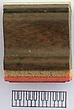 Keyboard Rubber Stamp