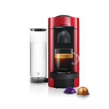 Nespresso Vertuo Plus Cherry Red Flat Top Coffee Machine
